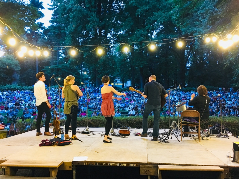 Runa, Irish Super Group, Performing at Pastorius Park Concerts