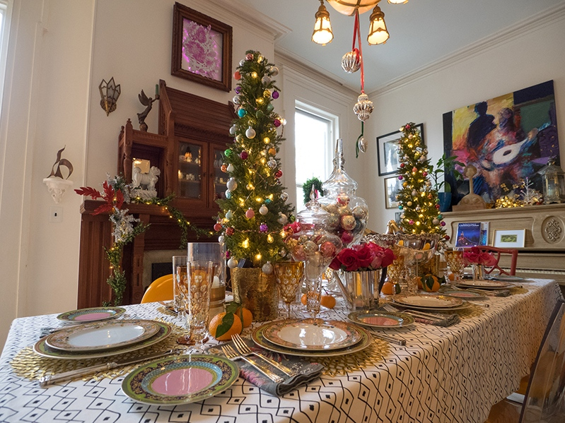 Chestnut Hill Christmas Holiday House Tour