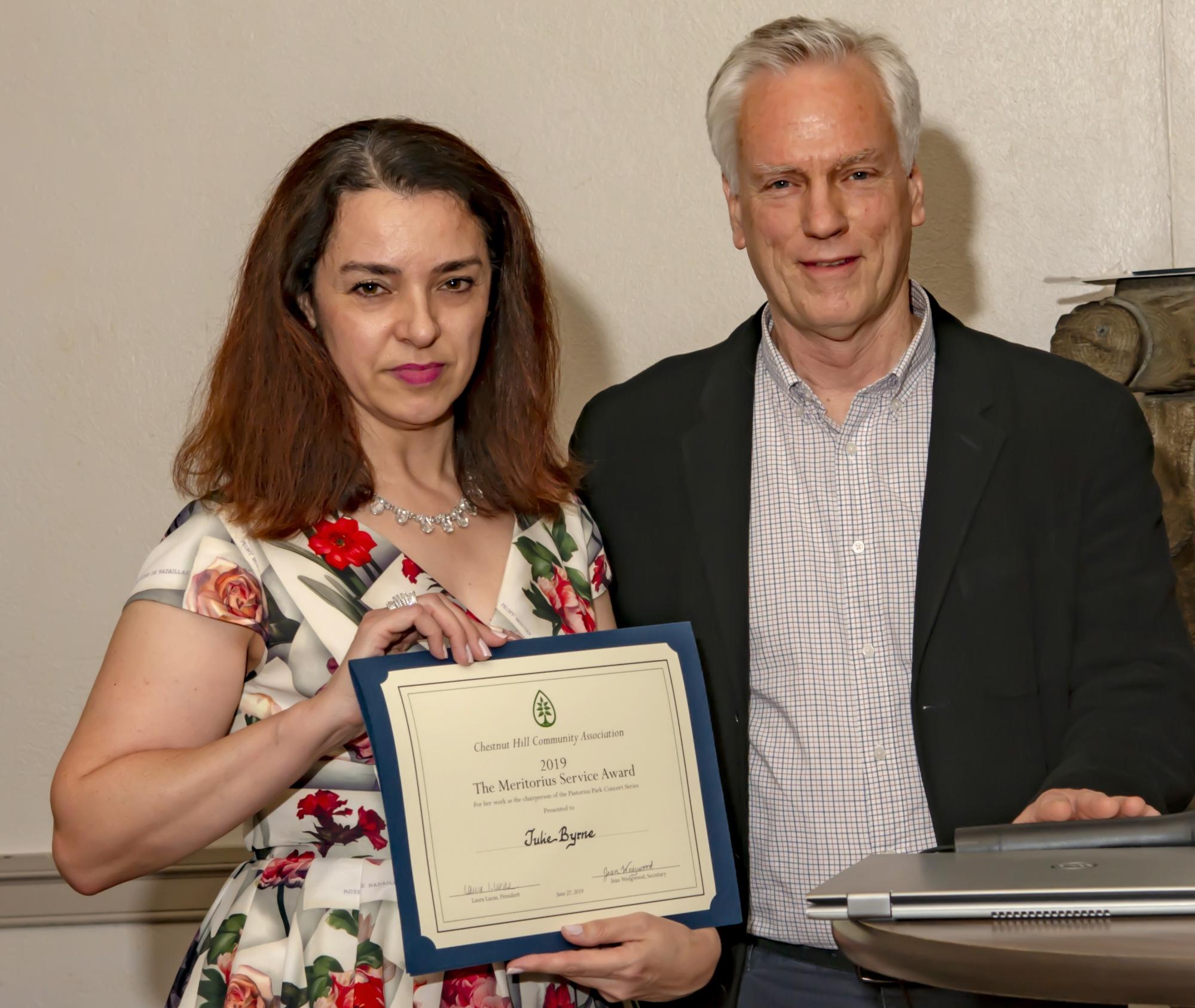 Meritorius Service Award
