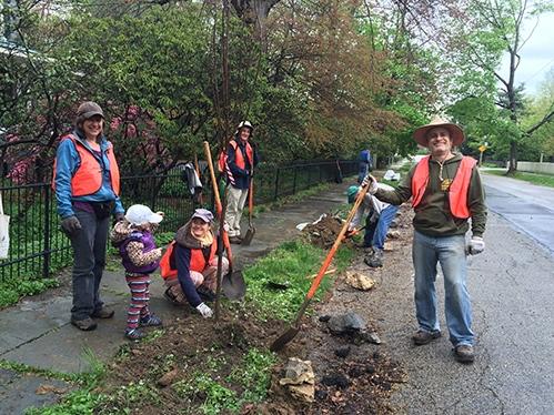 Tree Planting Spring 2016 Summit Avenue