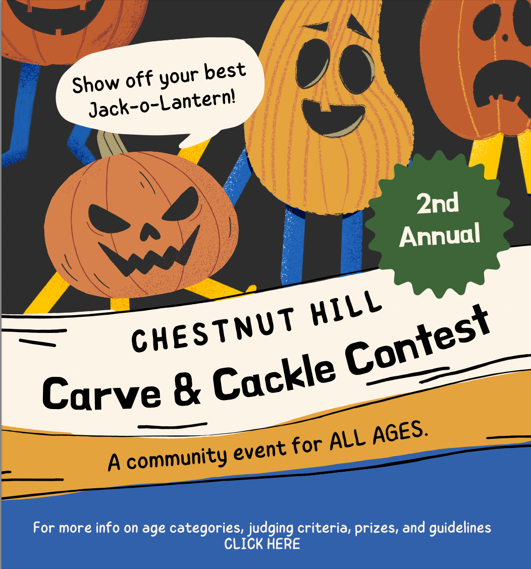 Chestnut Hill Carve and Cackle Contest